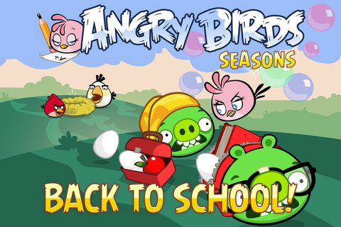 angry bird seasons