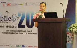 zalo tham gia su kien mobile day 2013